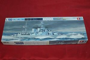 Model Kit Tamiya Battlecruiser Hood Scala 1/700 25a24nzk-07155712-719093175