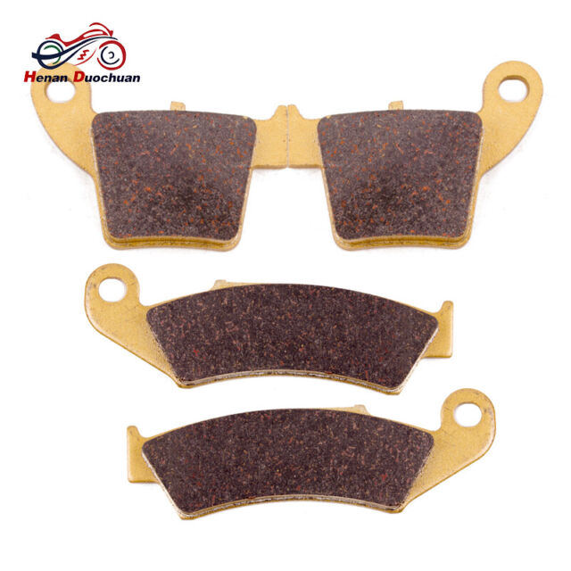 2002-2018 Honda CRF450R CRF450RA Front /& Rear Brake Pads