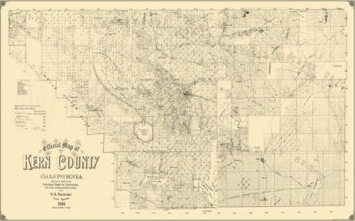 Kern California Landowner Macmurdo 1892-23 x 37.00