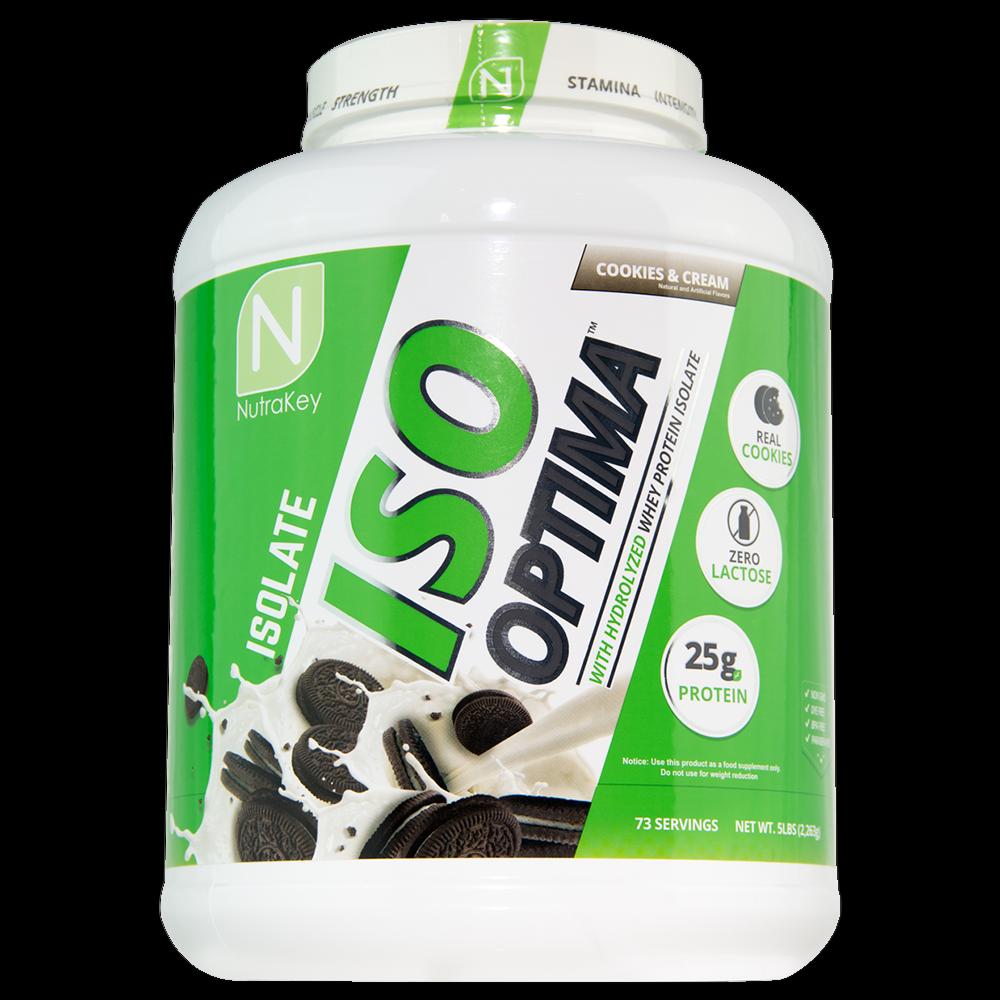 Nutrakey ISO Optima Whey Protein Powder 5lb FREE - 4 TASTY FLAVORS - FREE 5lb SHIPPING ad3b7f