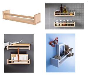 Ikea Scaffali In Legno.Ikea Bekvam In Legno Barattolo Per Spezie Scaffale Multiplo Usi