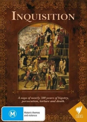 1 of 1 - INQUISITION SBS 500 YEARS OF BIGOTRY.. (4 PART SERIES) GENUINE REGION 4 DVD RARE