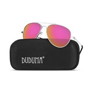 5f8277e989 Image is loading Duduma-Aviator-Sunglasses-for-Mens-Womens-Mirrored-Sun-