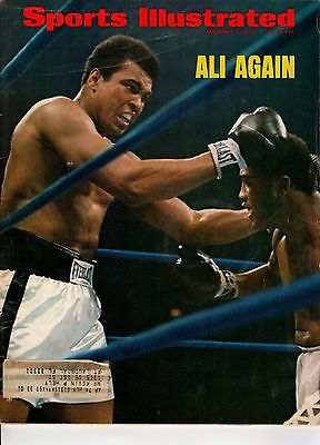 1974 Feb. 4 Sports Illustrated, Boxing, magazine, Muhammad Ali, Joe Frazier ~ Fr