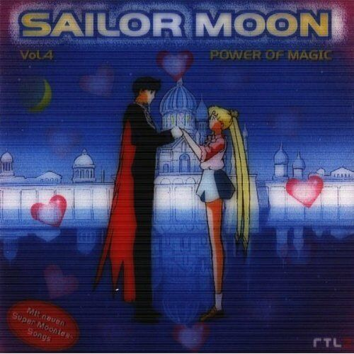 SAILOR MOON - Vol. 4, Power of Magic   /  Sehr schöne NEUWARE, new CD !