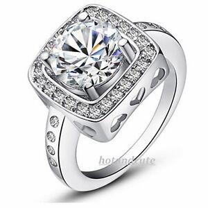 18k-White-Gold-Plated-Princess-Cut-Brilliant-Ring-Swarovski-Crystals-Size-6-7-8