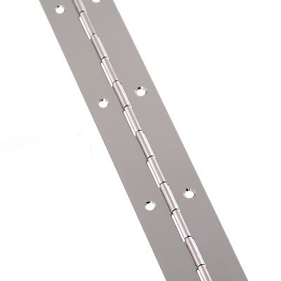 Electro Brass 32 x 1000mm Piano Hinge Continuous Hinge Nickel-Plated