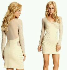 Guess By Marciano Angelas Long-Sleeve Embellished Sold Out Most Wanted Dress