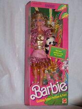vintage 1988 animal livin' barbie exciting safari fashion and fun!