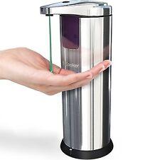 Dispensador De Jabon Liquido Con Sensor Automatico De Acero Inoxidable Electrico