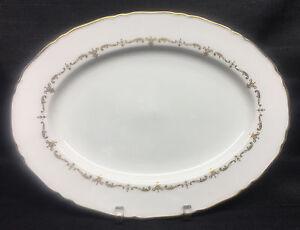 Royal-Worcester-Gold-Chantilly-13-034-Oval-Serving-Platter