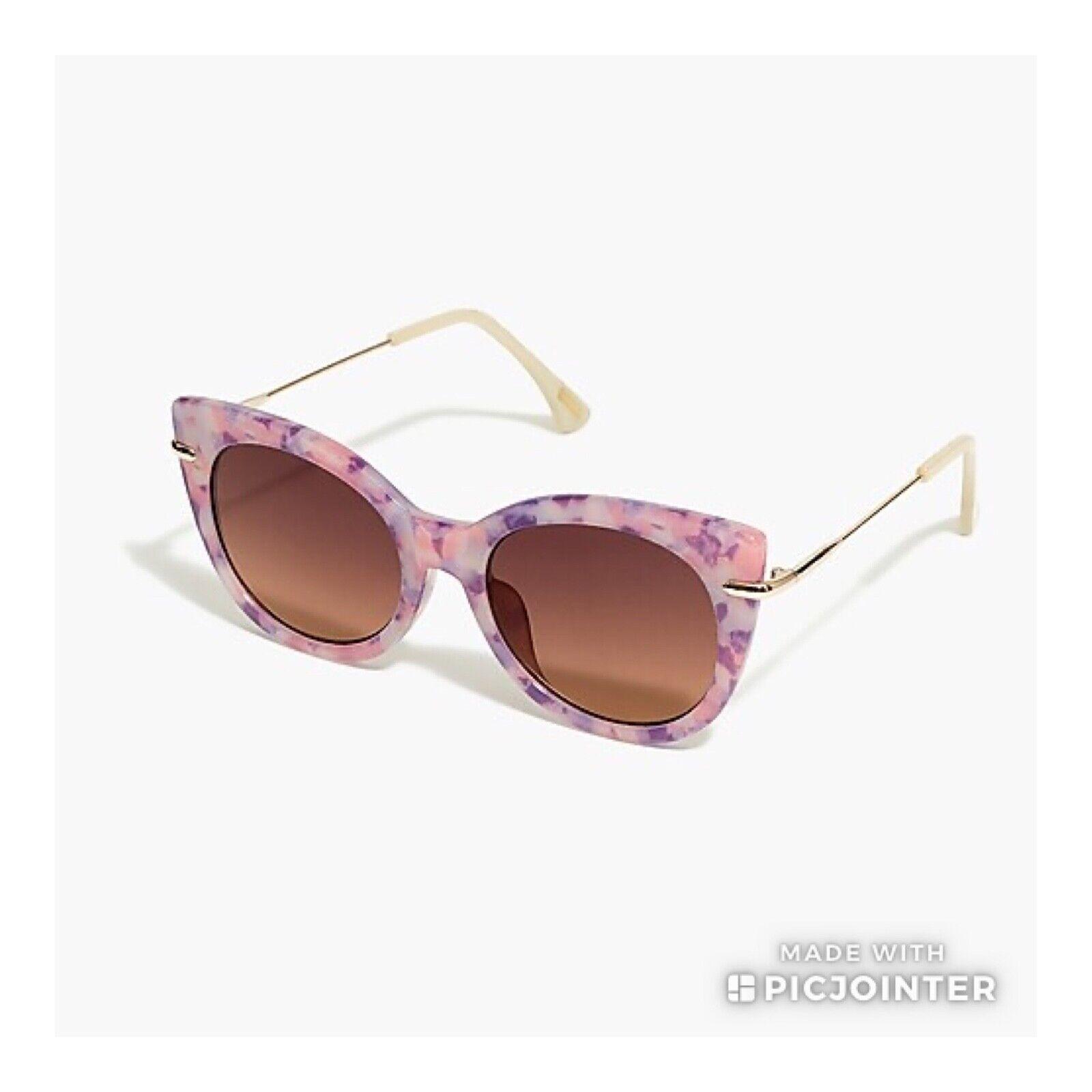 J.Crew Poolside 100%UV Protection milky sunglasses NWT