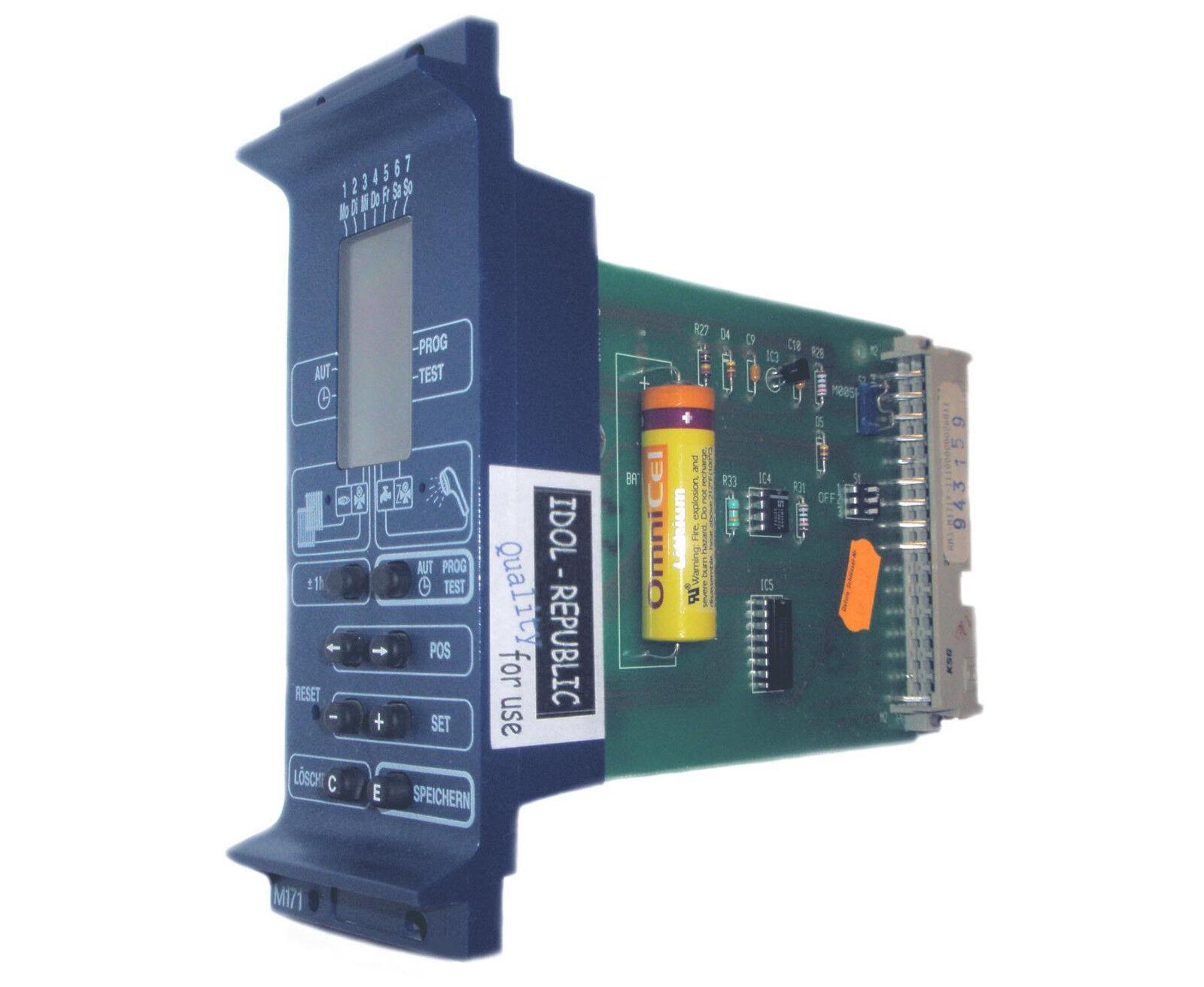 Buderus Modul M171 Digital Schaltuhr M 171 Digitalschaltuhr Digitalschaltuhr Digitalschaltuhr - M071 Ecomatic 3000 85fb35