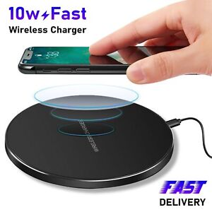 QI-Wireless-Charger-Fast-Charging-Pad-For-Samsung-Apple-iPhone-12-XS-Max-Xr-X-11