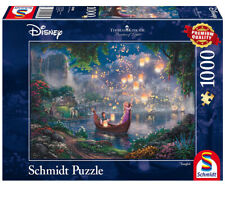 Schmidt Puzzle Disney Cinderella Wishes Upon a Dream Kinkade 1000 Pcs 59472