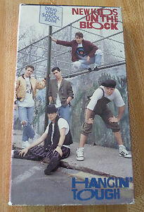VHS-Movie-New-Kids-on-the-Block-Hangin-039-Tough-NKOTB-1989-CBS