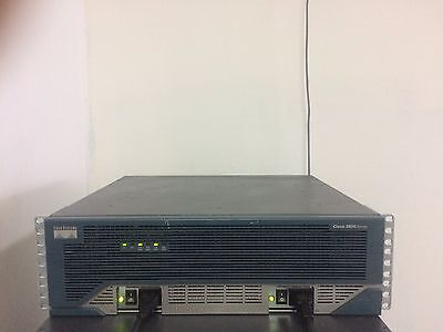 CISCO 3825//K9 GIGABIT VOICE SECURITY ROUTER 512D//256F ios-15.1 CME-8.5 CCNA CCNP