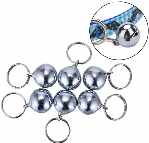 6 sets Cat Bell for Dog Collar Charm Pet Pendant Accessories