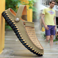 Fashion Mens Summer Loafer Sandals Casual Sneakers Soft Men's Oxfords shoes CS20