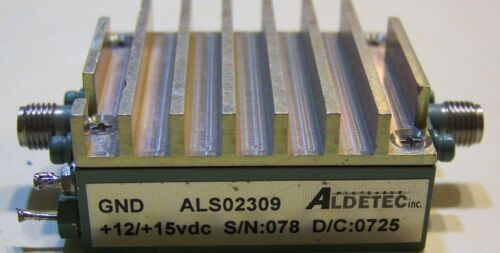 Very nice Medium power amplifier for .05-3.2GHz 25dB gain 250mW 24dBm P1 !