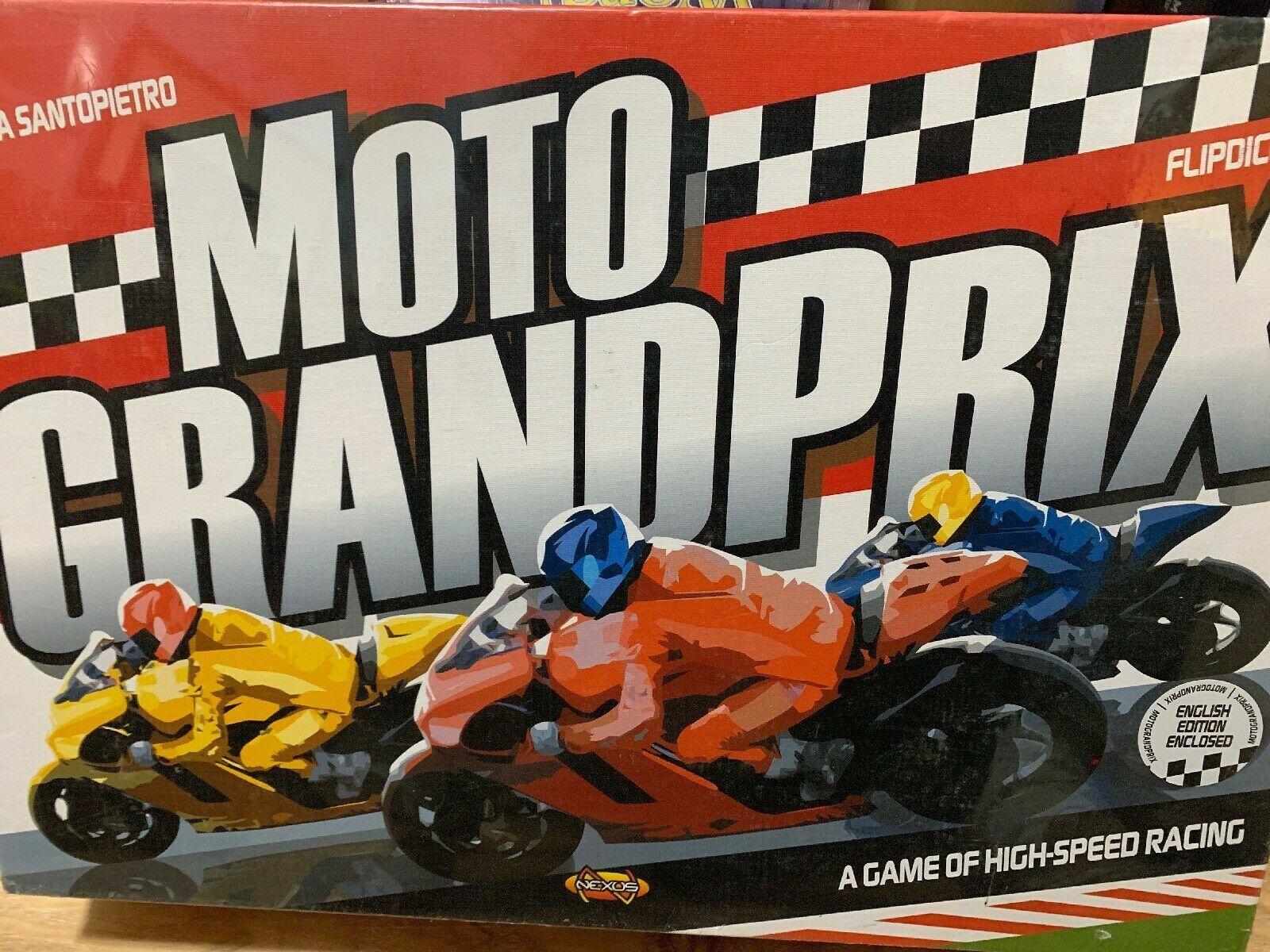 Moto Grand Prix Board Game - NEW SEALED