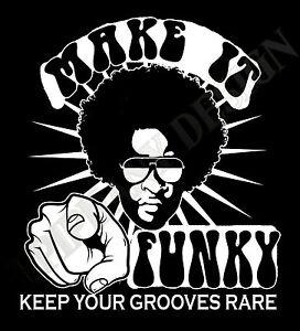 Image Is Loading Funk T Shirt Soul T Shirt Jazz T