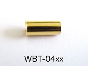 2-Piezas-Wbt-0434-2-5qmm-Terminales-Ofc-Cobre-Dorado-para-Prensar