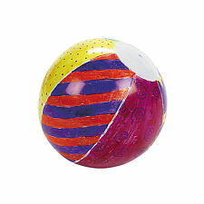 "Do It Yourself 5"" Plastic Mini Beach Balls 12 peices"