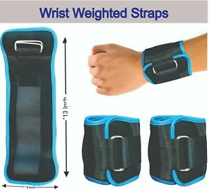 Adjustable-Ankle-Wrist-Straps-Running-Fitness-Gym-Weightlifting-Training-Wraps