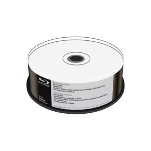 Blu-ray-BD-R-SL-25GB-6X-MediaRange-FF-Ink-Printable-Metalizado-Inferior-Cake-25