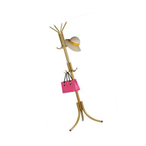 HTTH Standing Entryway Coat Rack Hat Hanger Holder 12 Hooks for Jacket Umbrel...