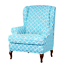 INSMA-Stretch-Wing-Chair-Cover-Slipcover-Wingback-Armchair-Furniture-D miniature 15