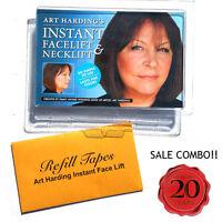 Anti Aging Kit Offer- Instant Face Lift & Neck Lift (dark Hair) + 10 Tapes