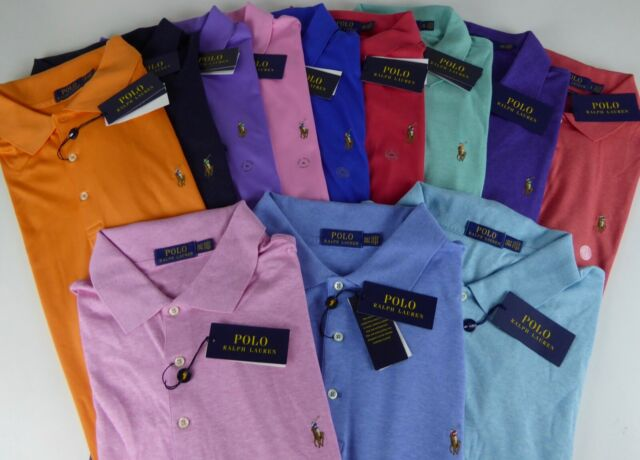 371bef20 Polo Ralph Lauren SS Soft Touch 100% Cotton Polo Shirt w/ Pony Logo $85-$98  NWT
