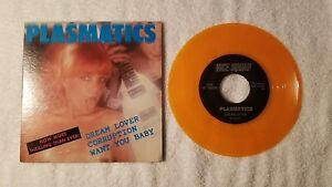 THE-PLASMATICS-Dream-Lover-2-more-ORIGINAL-US-7-034-PS-Single-45-ON-ORANGE-VINYL