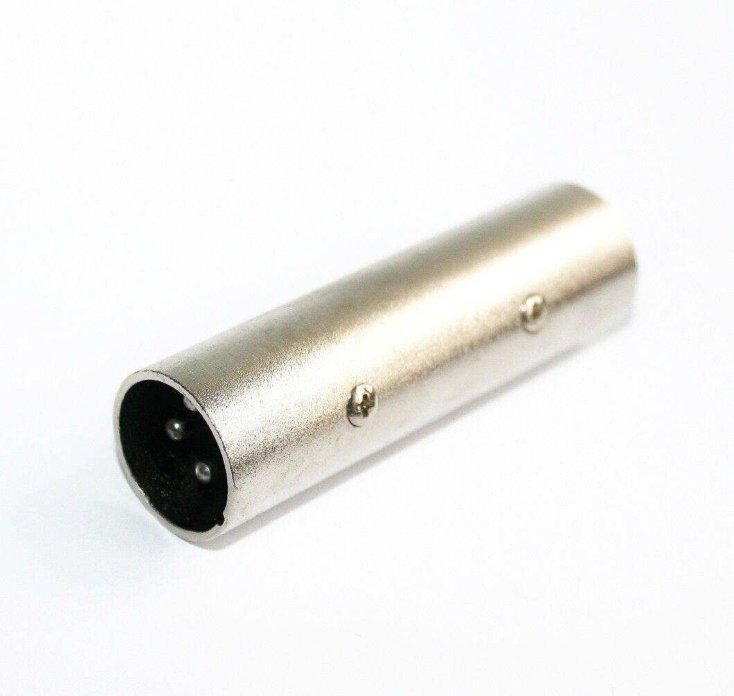 XLR 3-pol Kupplung female 3-polig Verbinder NEU 10x Adapter XLR 3-pol Kupplung