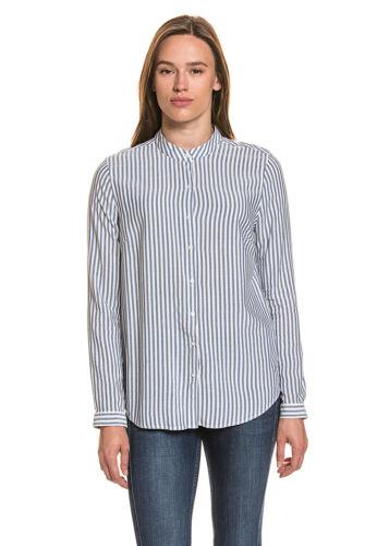 Bogner jeans donna blusa collo alla coreana taglio diritto dimensioni xs//34