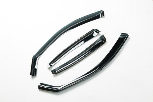 Avant et arrière 4PCS Vent Pluie Déflecteurs Bouclier Pour BMW F30 Série 3 Berline IE06