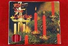 Swedish Angel Chime or Tree Candles 20-Count Box - Red - Biedermann & Sons