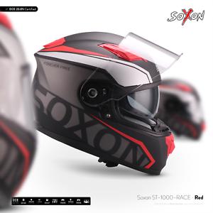 SOXON-ST-1000-RACE-RED-INTEGRAL-HELM-MOTORRAD-HELM-FULL-FACE-ROLLER-XS-XXL
