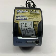 Brother Ql 500 Thermal Label Printer With Power Cord Tested