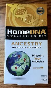 Details about New DDC Home DNA Collection Kit Ancestry Analysis + Report  Lab Fee