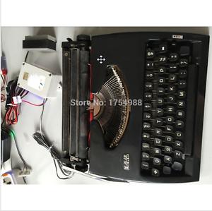Nueva sala de escape Accesorios de máquina de escribir la vida real Juego De Sala De Escape Utilería, Magia Prop