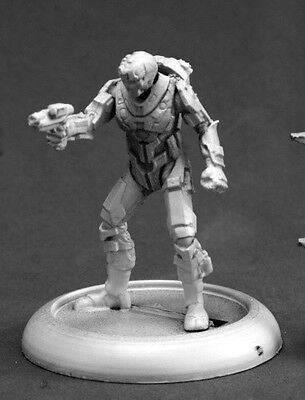 Blood Nebula Mercenary Reaper Miniatures Chronoscope Robot Sci Fi Power Armor-