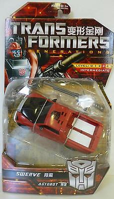 """SWERVE Transformers Generations 5"""" inch Deluxe Class Autobot Figure Asia 2012"""
