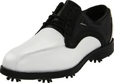 Callaway Ta Chev Blucher Golf Shoes (11) White/Black Saddle FT-M525-12