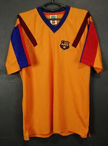 RETRO REPLICA FC BARCELONA 1989/1992 FOOTBALL SOCCER SHIRT JERSEY MAGLIA SIZE XL