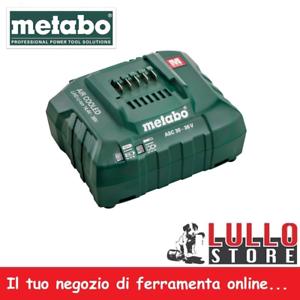 CARICABATTERIE-ASC-30-per-batterie-da-14-4-36-Volt-Metabo