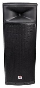 Rockville-SPGN258-Dual-15-3000w-2-Way-8-Ohm-Passive-DJ-PA-Speaker-ABS-Cabinet