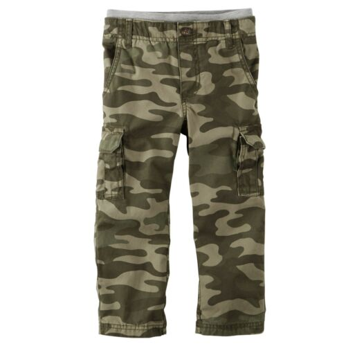 Carter/'s Toddler Boys/' Camo Pull-On Cargo Pants NWT Camouflage